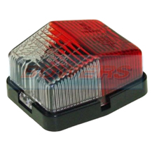 Jokon SPL115 12.0012.000 Square Caravan Motorhome Red White End Outline Side Marker Light Lamp